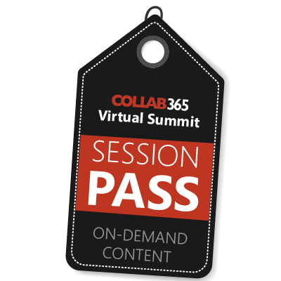 Collab365 Session Pass
