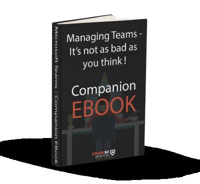 Microsoft Teams Management EBook